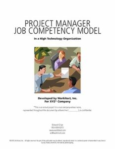 Project Manager Competency Models