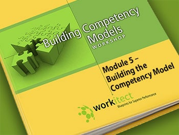 Module 5 - Building the Competency Model