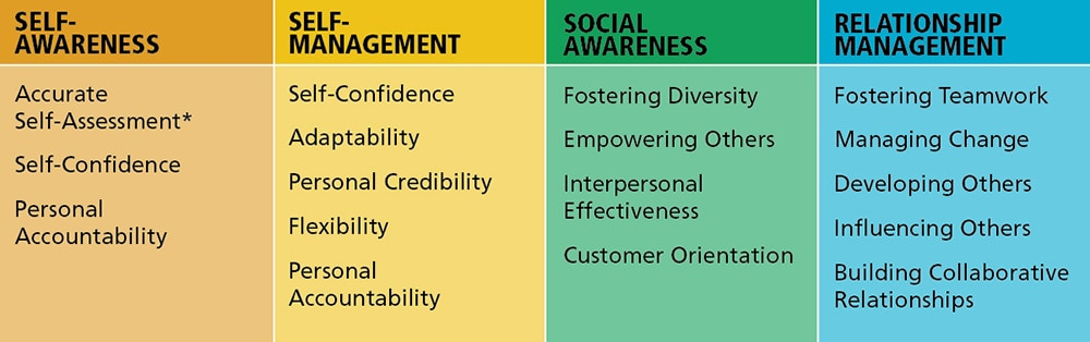 Workitect Emotional Intelligence Competencies